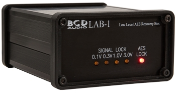 BCD Audio Low-level AES-3 Recovery Box
